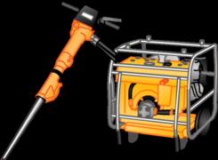 Hydraulische Werkzeuge u. Geräte mieten