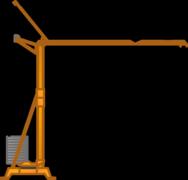 Turmdrehkrane (untendrehend) mieten