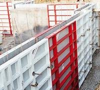 Kellerschalung/Wandschalung mieten leihen