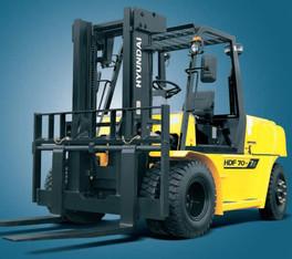 Diesel Gabelstapler 7t 5m mieten leihen