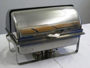 Speisenwärmer/Chafing dish mieten leihen