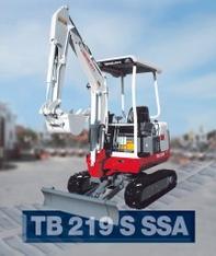 Kompaktbagger TB 219 S (8h) mieten leihen