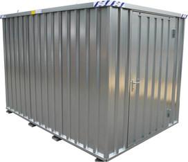 Magazincontainer , Materialcontainer ca. 3,00 x 2,20 m x 2,20 m mieten leihen