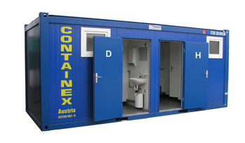 """Container 20"""" mieten leihen"""