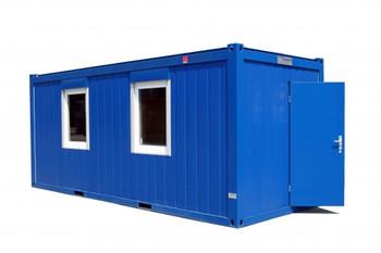 Büro-Baustellencontainer/Aufenthalts-Container mieten leihen