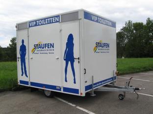 VIP Toilettenanhänger mieten leihen