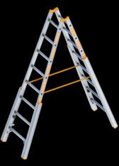 Alu-Treppenstehleiter mieten leihen